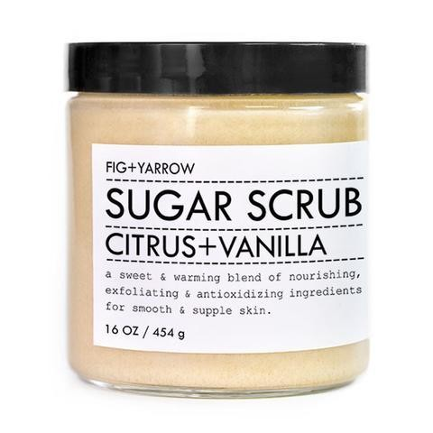 FIG + YARROW Citrus + Vanilla Sugar Scrub
