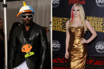 Lego Love: Avril Lavigne Digs Wil.I.Am's Funky Style