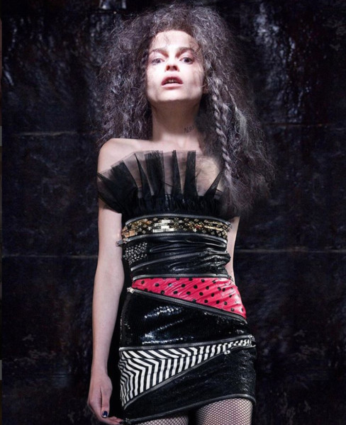 "Bellatrix Lestrange In ""Yvesslythaurent"" Fall/Winter 2015"