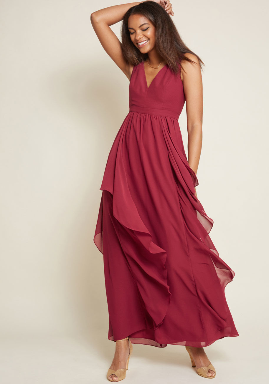 25 Burgundy Bridesmaid Dresses You Can Buy Online Now