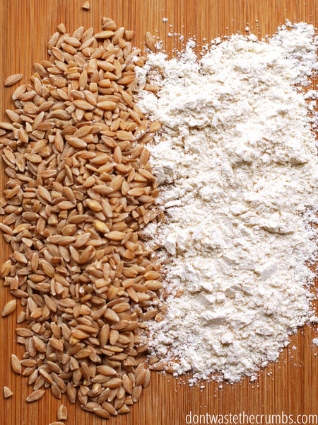 Create Your Own All-Purpose Flour