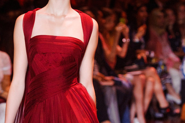 Runway Dresses We Wish We Could Wear for Valentine's Day