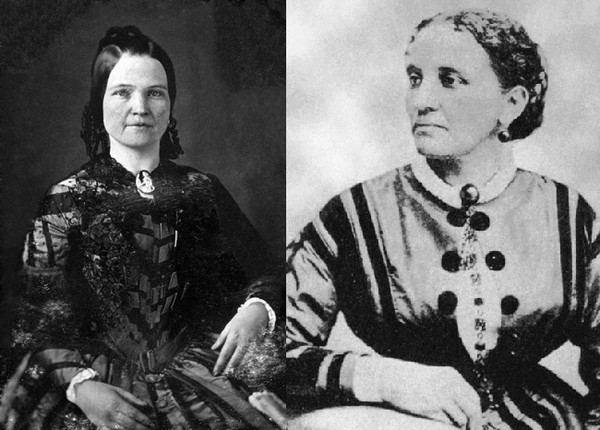 Mary Todd Lincoln And Elizabeth Keckley