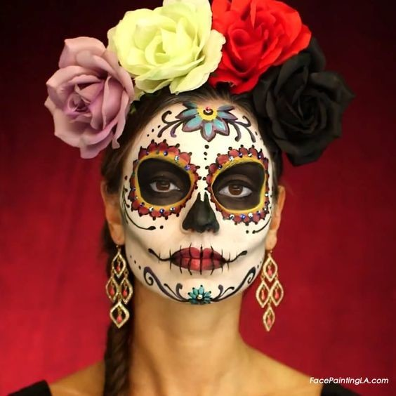 classic dia de los muertos celebrate day of the dead