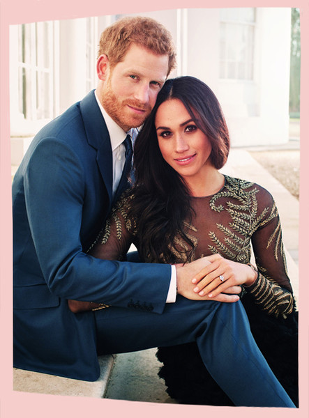 Cute Pictures of Prince Harry and Meghan Markle
