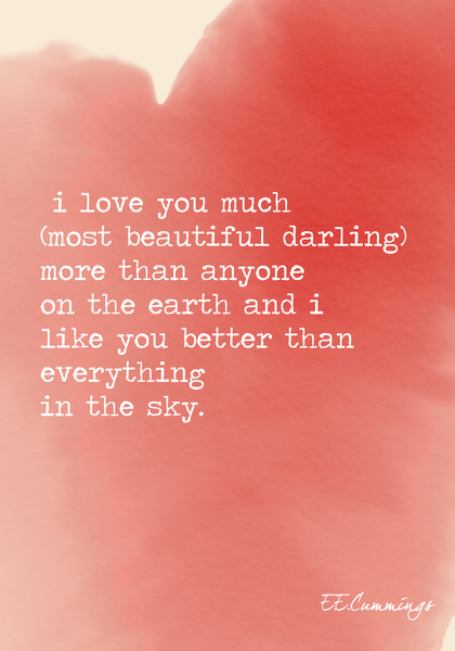 I Love You Much Most Beautiful Darling More Than Anyone On The