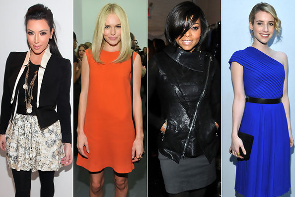 10 Best Dressed Celebs at New York Fashion Week Fall 2011