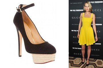 Leelee Sobieski Is Sweet on Charlotte Olympia