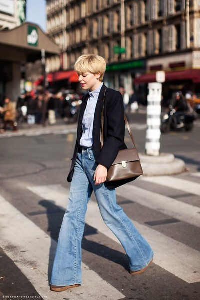 Paired with a Blazer and Collared Shirt