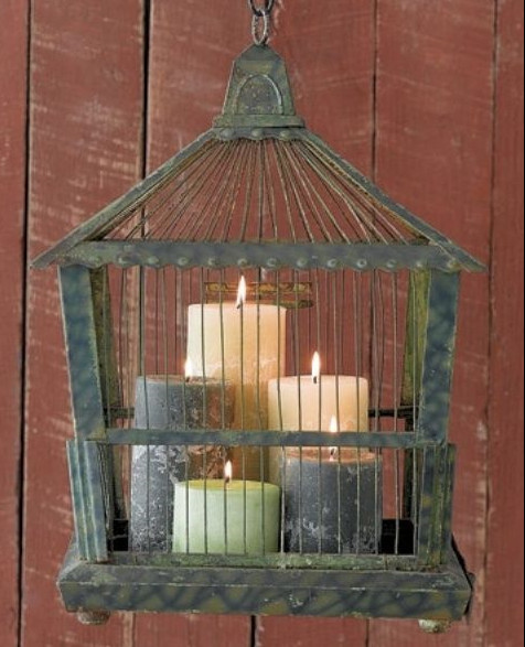 Candle Birdcage Idea