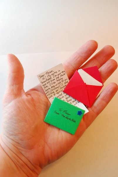 Leave an elf letter lying around