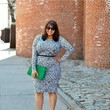 A Wiggle Dress With Bold Accents