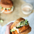 Cauliflower And Sweet Potato Burgers