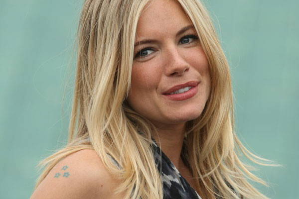 Sienna Miller Tattoos