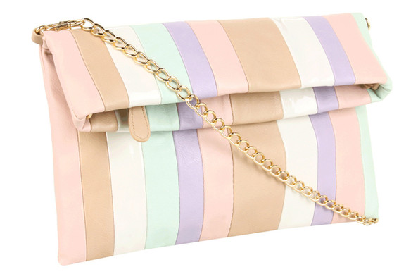 "Aldo's Striped ""Proa"" Bag"