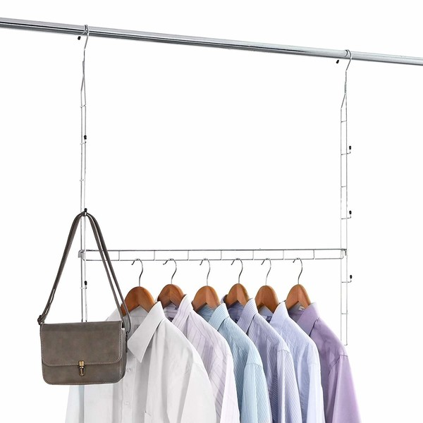 Closet Organization Tip #11: Add A Second Bar