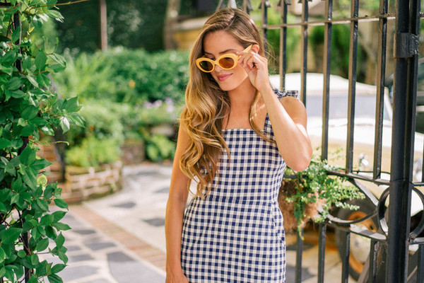 Fresh Gingham Outfit Ideas Perfect for Summer