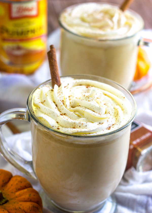 Slow Cooker Pumpkin White Hot Chocolate  To Die For