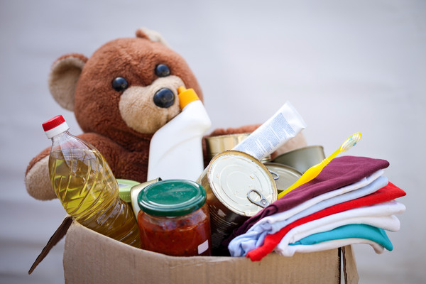 Pack up a donation bag