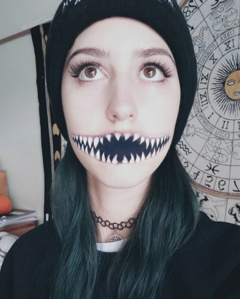 Monster Mouth - The Most Hauntingly Gorgeous Halloween ...