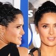 Salma Hayek's Braided Headbands