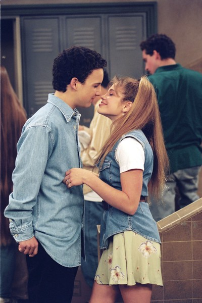 topanga and cory dating in real life
