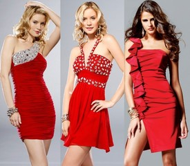 We Heart Red Prom Dresses