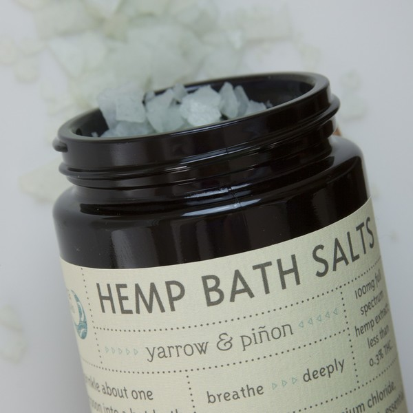 Ambika Herbals Hemp Bath Salts