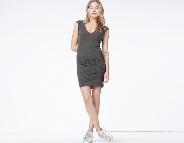 1 Easy Pull-On Cotton Dress in a Neutral or Darker Color