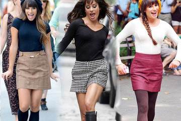 Sneak Peek: Lea Michele's 'Glee' Style