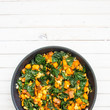 Kale, Sweet Potato and Tempeh Breakfast Hash