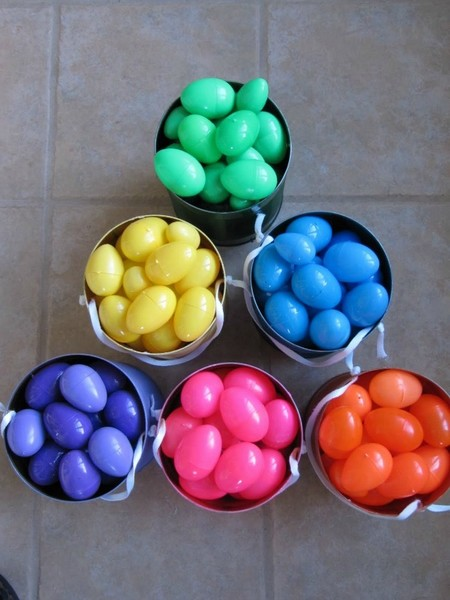 Color code the eggs