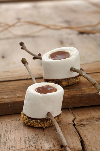S'mores Jell-O Shots