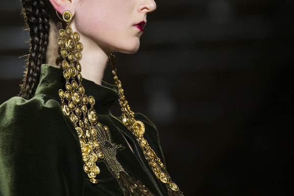 The Most Magnificent Jewelry on the Paris Runway