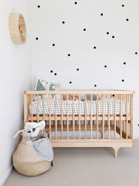 Try polka dot decals