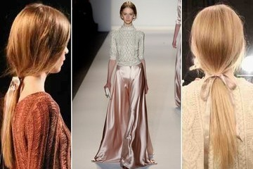 Runway Hair You Can Actually Wear: Romantic Ponytails at Jenny Packham (+ DIY Tips!)