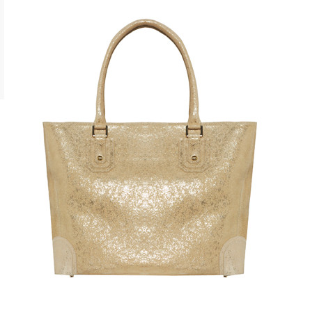 Square D Tote in Gold