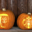 Starbucks-Inspired Pumpkins