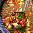 Throw more veggies in that minestrone