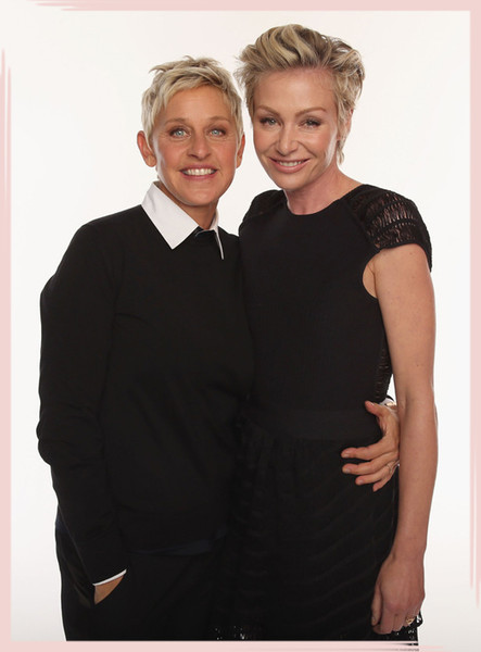Stylish Celebrity Couples: Ellen DeGeneres and Portia de Rossi