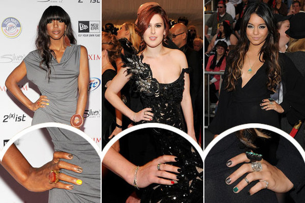 Rebel Nails Hollywoods Newest Manicure Trend