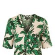 Go For a Tropical Print Blouse