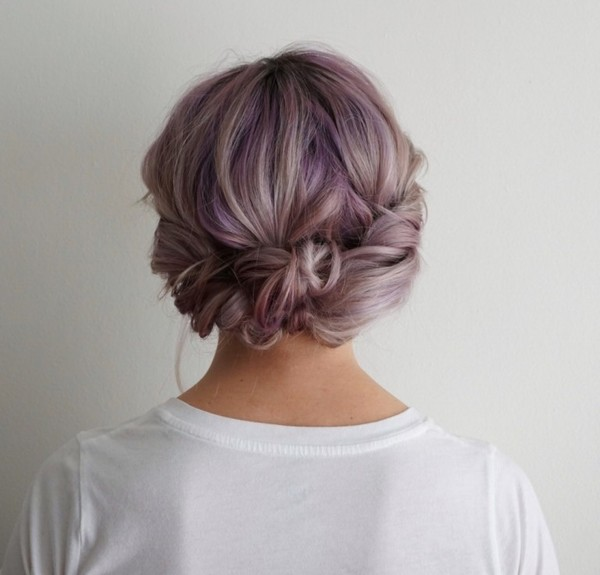 Roll And Twist Updo Best Styles For Short Hair Livingly