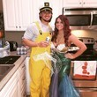 Fisherman & A Caught Mermaid