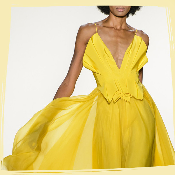 The Most Beautiful Dresses on the Runway at NYFW
