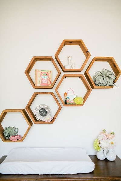 Get creative with wall space