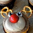 Rudolph The Red Nosed Cupcake