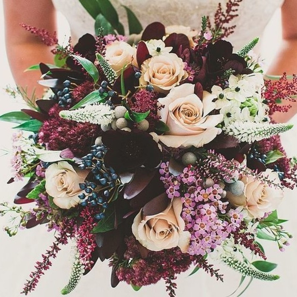 The Most Popular Wedding Bouquets On Pinterest - Livingly
