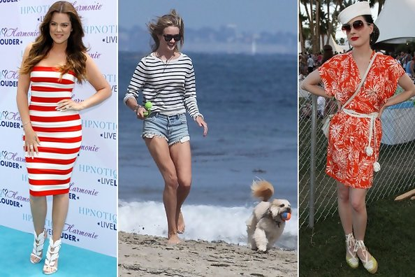 Nautical Notions: 20 Celebrity Outfit Ideas