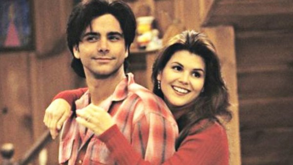 Uncle Jesse and Aunt Becky on 'Full House'